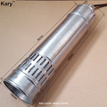Kary factory direct 20 meters lift stainless steel centrifugal 12v dc submersible solar pump for bore well