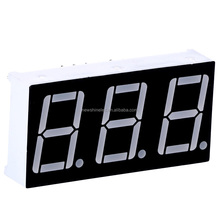 Manufacturer price 0.39 inch Orange seven segment common cathode 3 digits 7 segment led display for led digital signs board