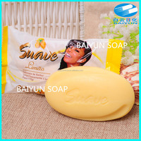 115g lemon fragrance beauty soap made by china supplier