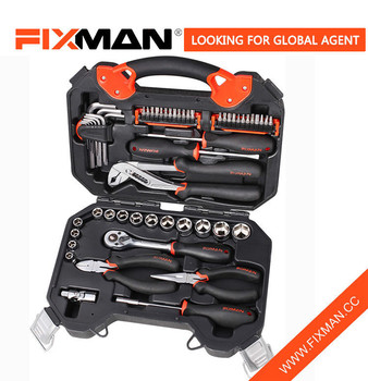 Professional Hardware Hand Tool Kit Set CR-V Material