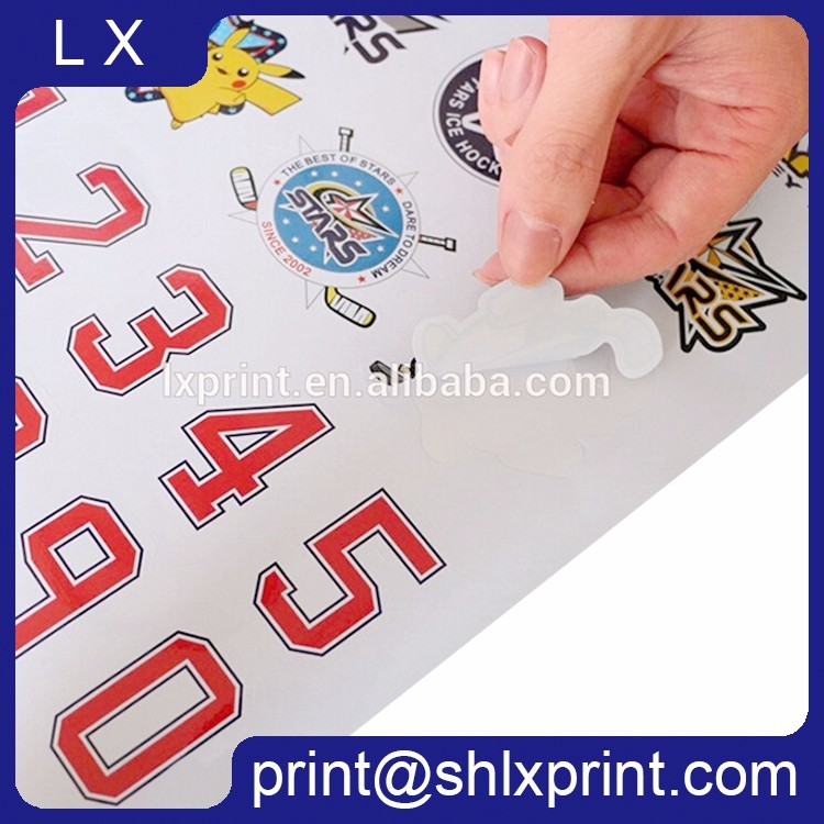 Custom Printed Waterproof Vinyl Label Sticker
