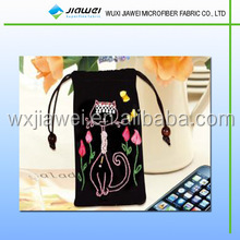 New Design microfiber eyeglasses bag/cell phone pouch