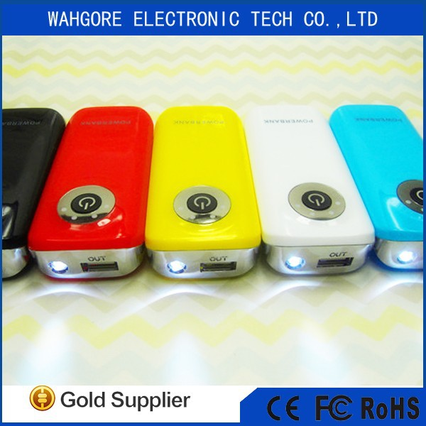 5600Mah 18650 hot sell power bank for iphone for samsung for htc usb