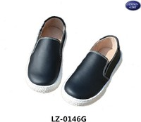 Latest black school shoes /kids shoes/child shoes for boy