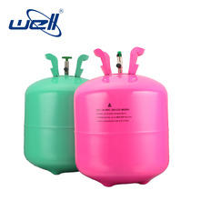 13.4L mini helium tank balloons whole sale empty small disposable helium gas cylinder for balloons