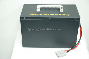 Electrical vehicle battery 24V25Ah/40Ah with nano lifepo4