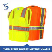 Reflective construction work safety clothing security vest