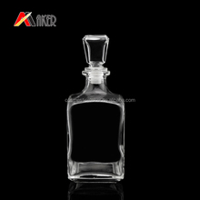 750ml wholesale glass wine Bottle unique glass liquor bottles