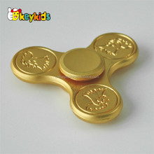Addictive fidget toys aluminum metal copper EDC hand finger brass spinner W01A259-S