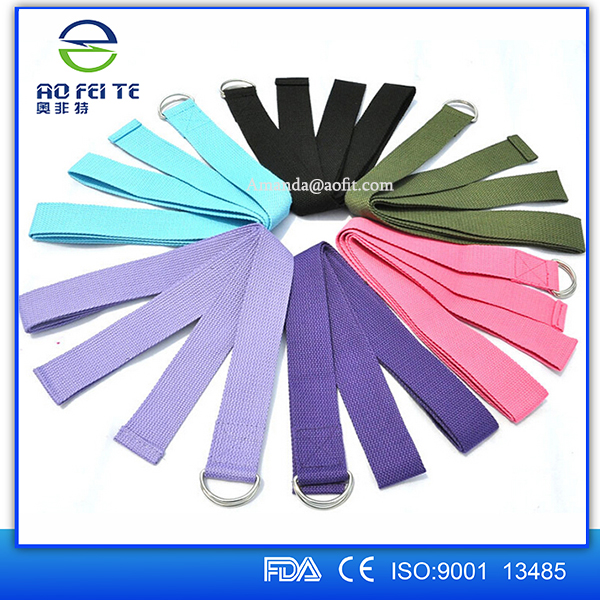New Yoga Belt Strap 183 * 3.8cm Stretch Strap Pilates Belt Waist Arms Leg Yoga Exercise