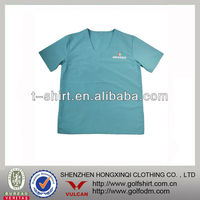 100% Polyester Short Sleeve Work t shirt For Pets Hospital