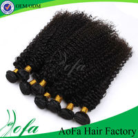 Human hair extensions black women raw indian temple curly hair