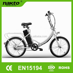 Quzhou Naijiate 20 inch electric bike with Japan standard