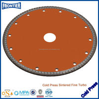 Sintered turbo Strong diamond saw blades