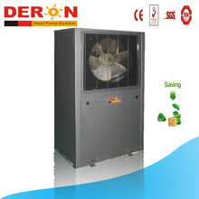 Guangzhou deron evi heat pump air source water heater for cold area