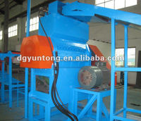 2015 hot price shredder single shaft shredder our shaft shredder all kind of solid shredding machine rubber tire recycled