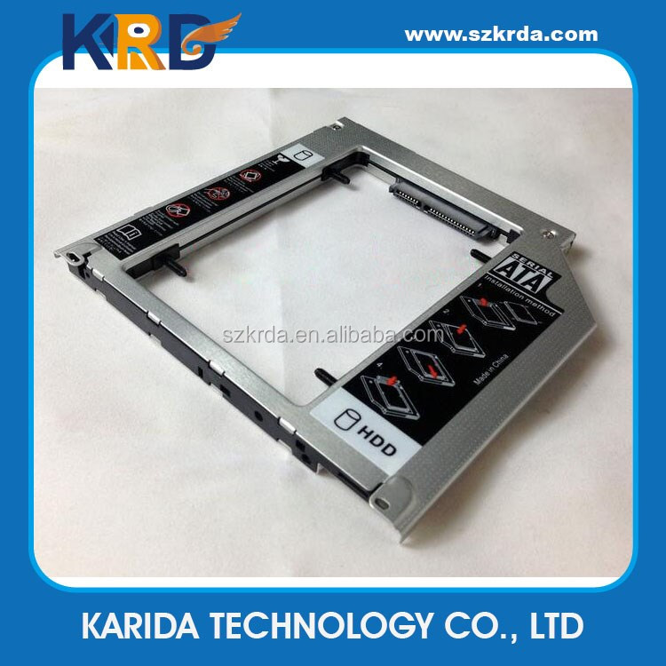 9.5mm sata second HDD caddy for Apple MacBook Pro