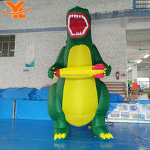 Giant Inflatable Dinosaur Costume Advertising Display Inflatable Model For Event