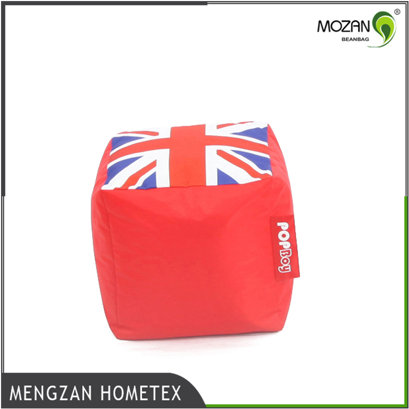 Hot sale waterproof UK flag bedroom furniture sets lazy boy bean bags round beanbag