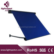 Dutch canopy window retractable awnings sunshade rain protection