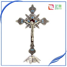 Small metal cross for crafts