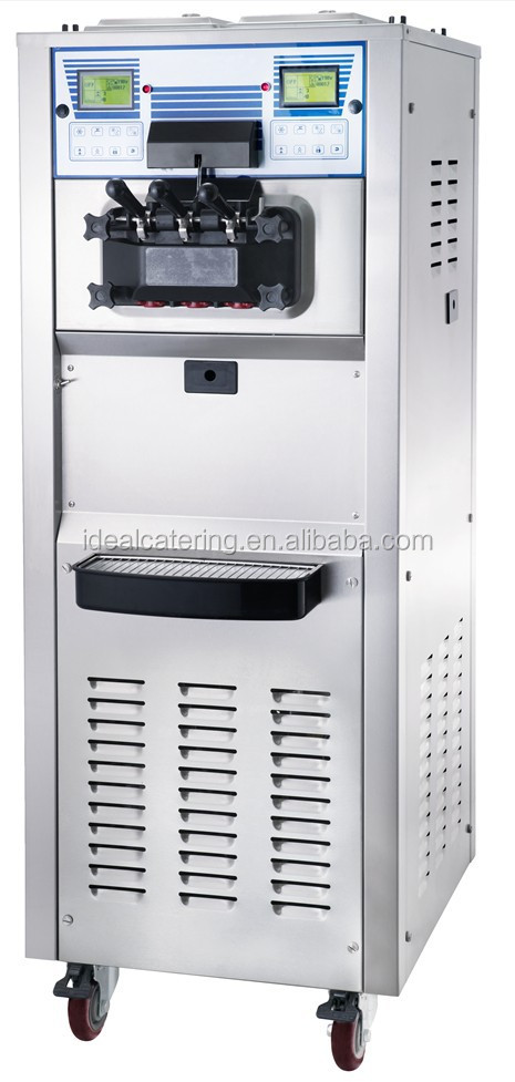 hot sale best price mcdonald's Three flavors soft ice cream machine 50L(IM-6250A)