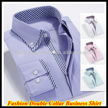 Men's Luxury Double Collar Long Sleeve Business Shirts