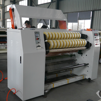 YU-210 High Precision BOPP Packing Tape Slitting Machine / Automatic Tape Slitting Rewinding machine