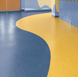 2.0mm Thickness Kindergarten Floor Vinyl Floor Rolls PVC Flooring For Children
