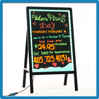 Hot Selling ZD Hanging Restaurant Menu Board 90 Flashing Modes Restaurant Menu Board Corner Protector LED Restaurant Menu Board