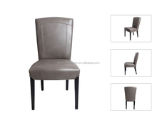 Leather Wooden Chair Dining Room For Hotel Furniture