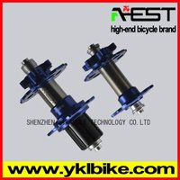 light alloy bicycle hub cone