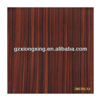 Various high glossy wooden-grain PVC deco film