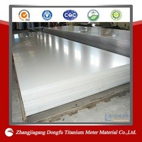 Polished Titanium Sheet Grade 2