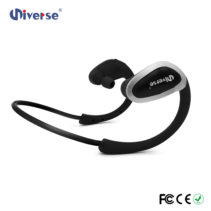 CSR8635 chip in ear style noise cancelling sport bluetooth headset wireless