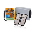 2 relay 433mhz DC9V-DC24V Rf Wireless On Off Switch Remote Controller with rolling code YET402PC-V2.0