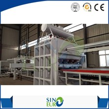 2400tons short cycle one layer automatic vacuum membrane lamination vacuum hot press machine