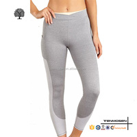 Tenmosen custom cheap supplex girls running tights gym wear wholesale