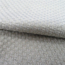 China manufacture white solid color overcoat synthetic wool fabric