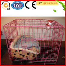 Cheap Metal Wire Pink Dog Cage/Blue Dog Cage Malaysia