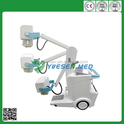 medical 16kW/200ma digital radiography mobile xray machines