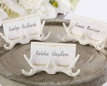 Antler place card holder wedding favor event decoration centerpieces for wedding table