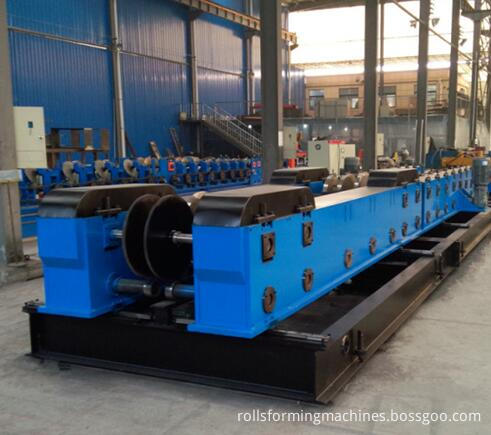 full automatic changeable cable tray roll forming machine