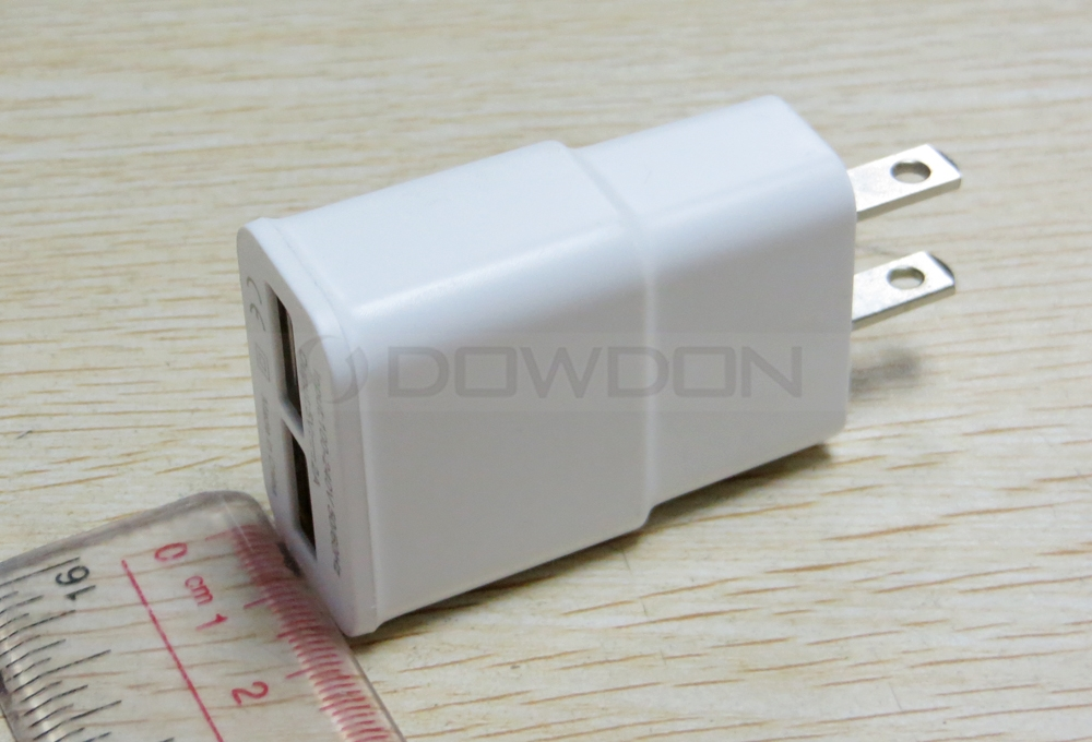 5V Dual Port USB Wall Charger Home Travel Power AC Power Adapter EU Plug US Plug for iPhone Android Cell Phones