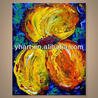 Wholesale Wall Art Picture Handmade Paintings Flowers Famous Artists