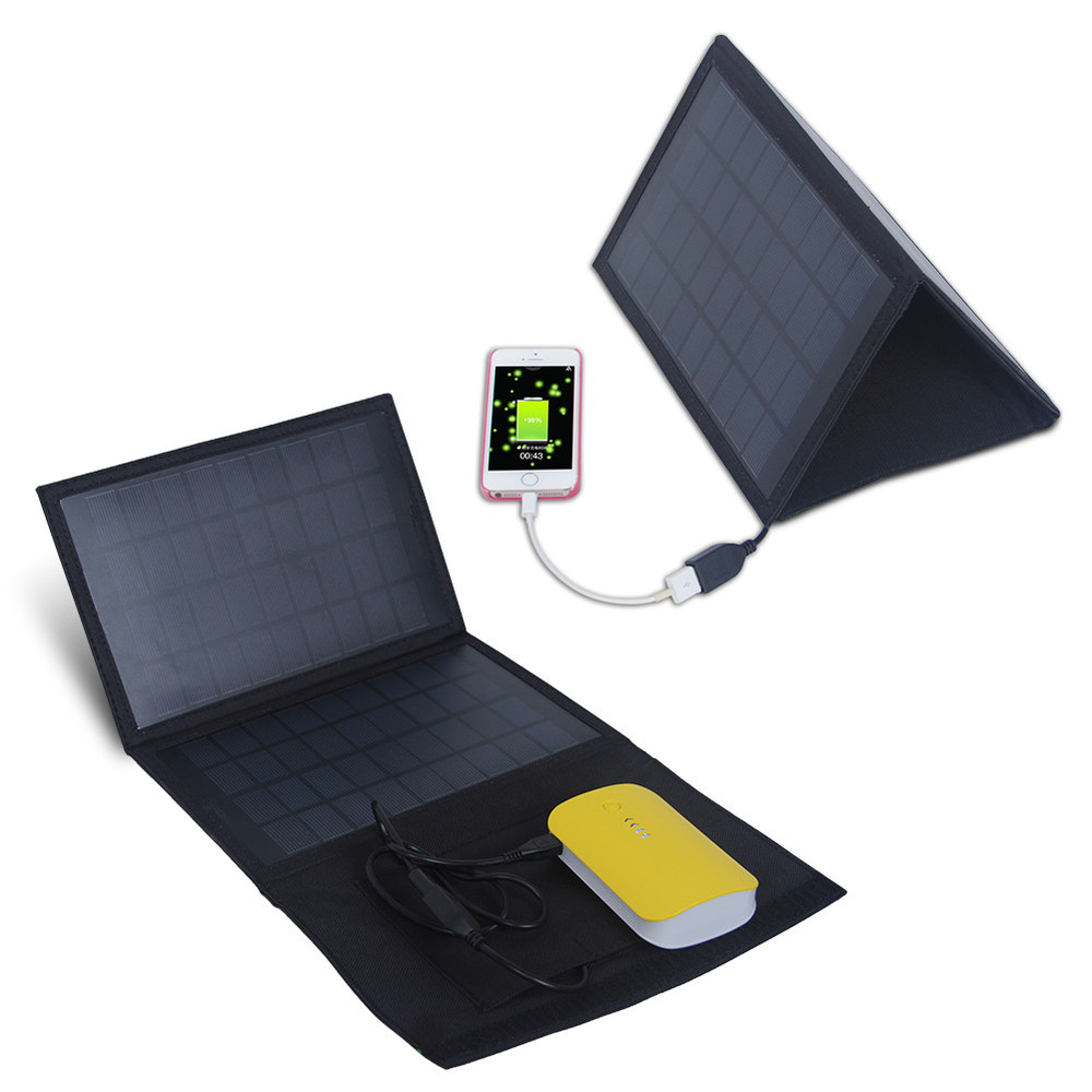 HOT selling! 7W USB Mobile phone Solar Charger Bag