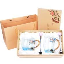 Fashion Design LUXURY Tea Cup Sets gold plated tea cup set