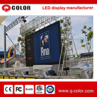 outdoor high definition 5,500 nits SMD LED display screen p5 p6 led video wall