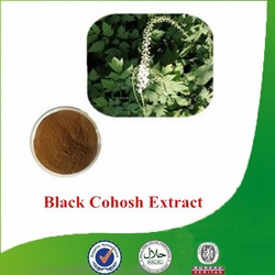Factory supply Natural & Pure Black Cohosh Extract, Cimicifuga racemosa extract, Triterpene Glycosides