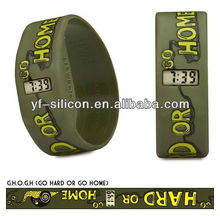 ODM rubber watches with free sample and fast design